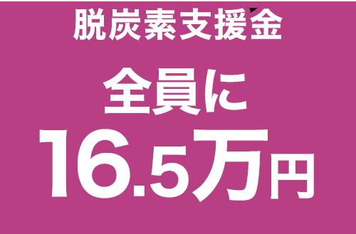 脱炭素支援金 全員に10万円